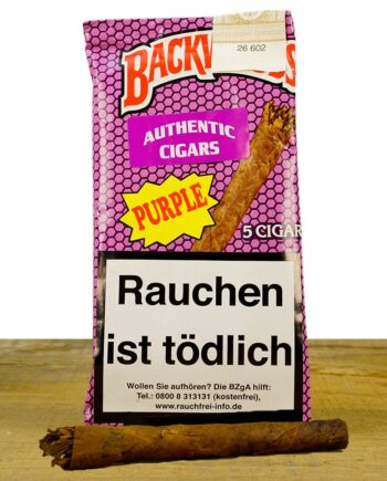 Backwoods Honey Berry Purple Zigarren Blunts 5 Stück