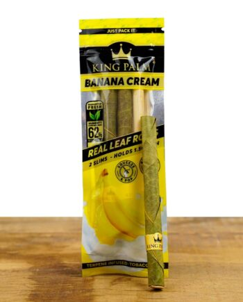 2 King Palm Slim Banana Cream King Palm