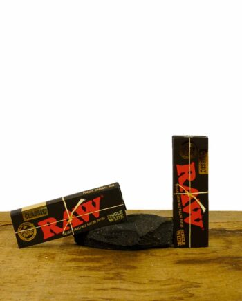 RAW Black Single Wide Papers