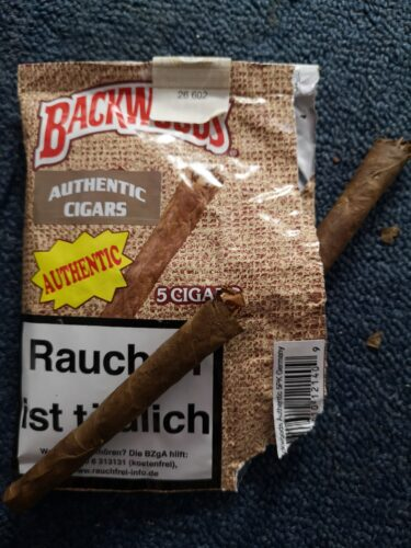 Backwoods Authentic Cigars 5er Pack photo review