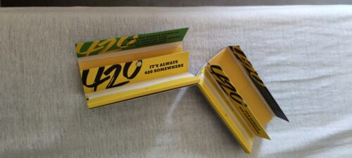 Gizeh 420 Paper King Size Slim mit Tips limited Edition photo review